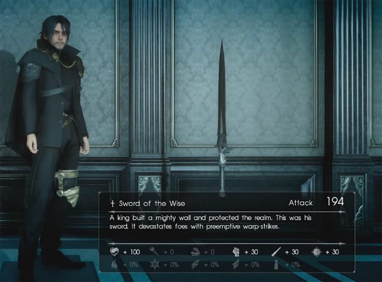 Sword of the Wise / Final Fantasy XV Screenshot