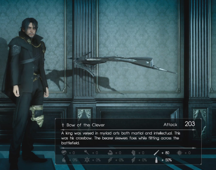Bow of the Clever / Final Fantasy XV Screenshot