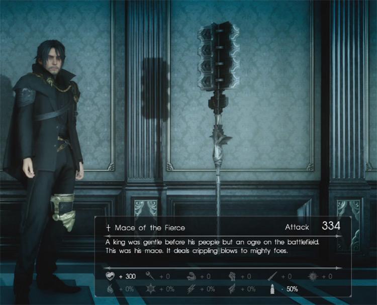 Mace of the Fierce / Final Fantasy XV Screenshot