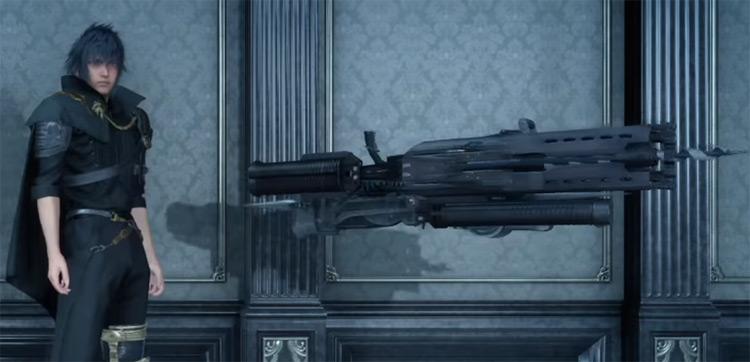 Drillbreaker Machinery Weapon / Final Fantasy XV