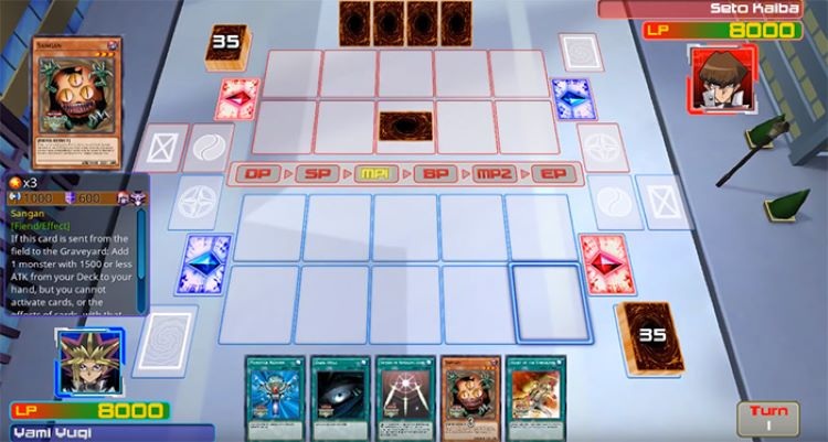 Legacy of the Duelist GBA YuGiOh gameplay