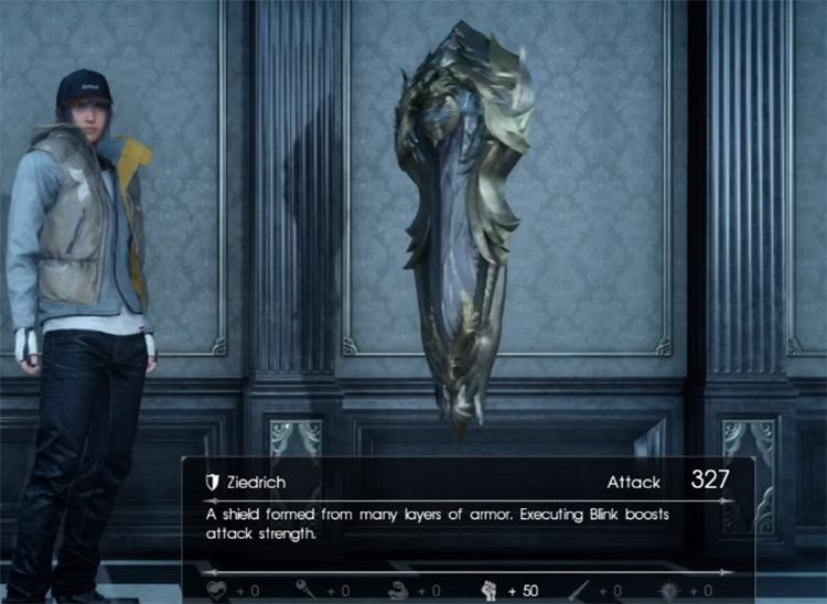 Ziedrich Shield / Final Fantasy XV