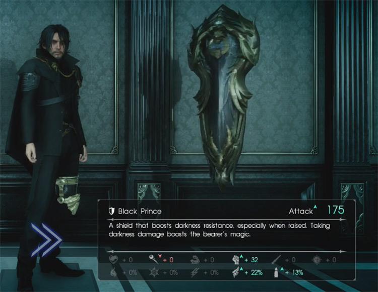 Black Prince Shield / Final Fantasy XV