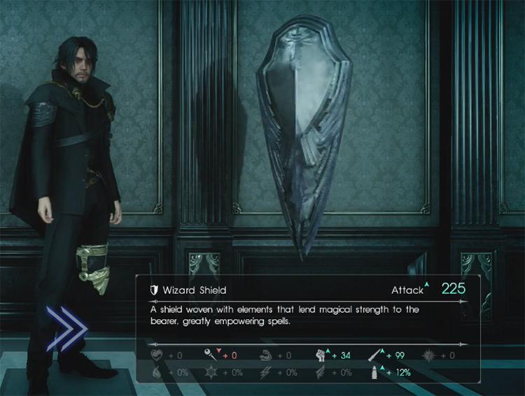 Wizard Shield / Final Fantasy XV