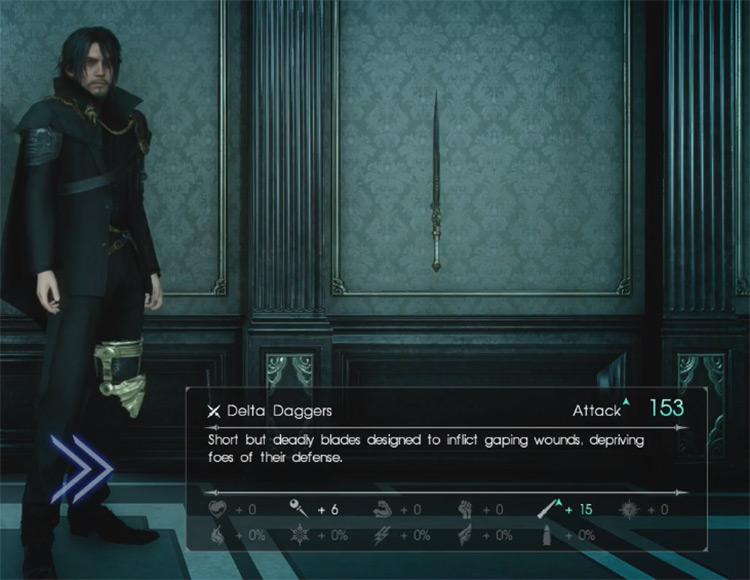 Delta Daggers / Final Fantasy XV
