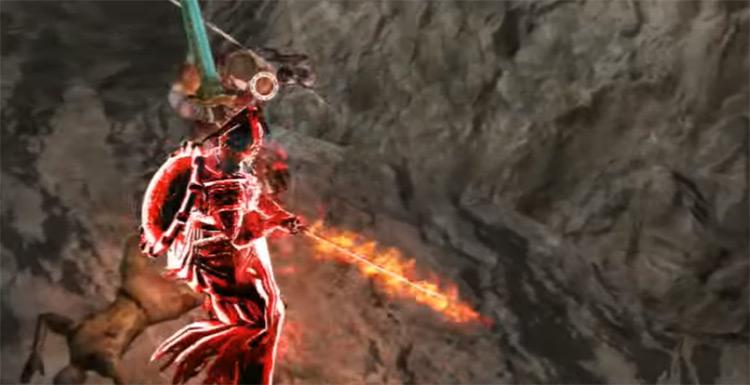 Possessed Armor Sword in Dark Souls 2
