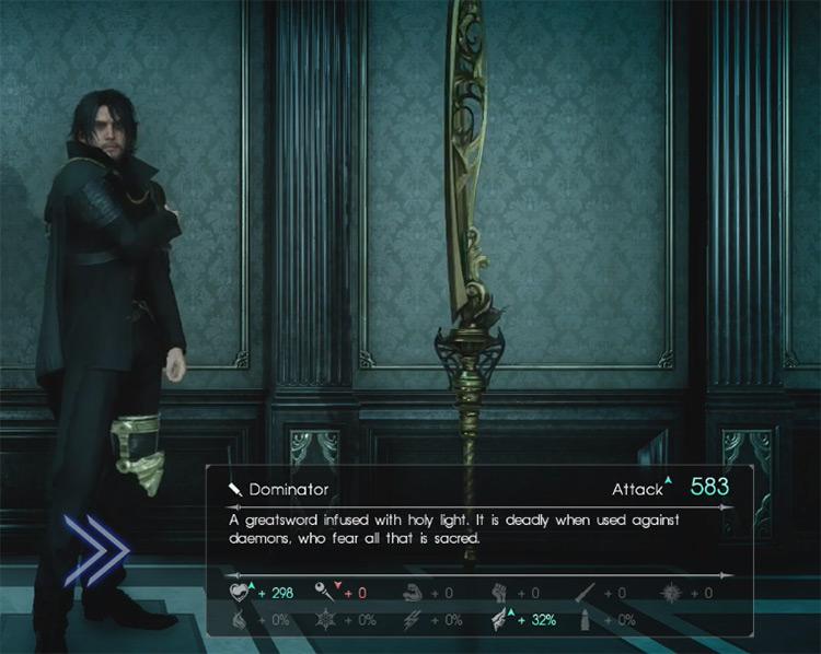 Dominator Greatsword / Final Fantasy XV