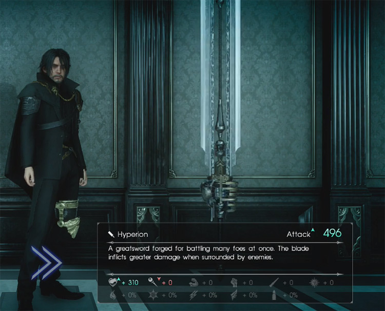 Hyperion Greatsword / Final Fantasy XV