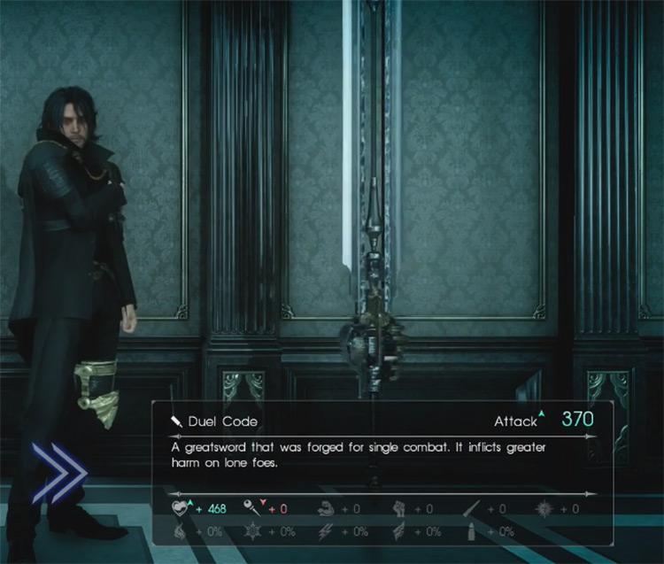 Duel Code Greatsword / Final Fantasy XV
