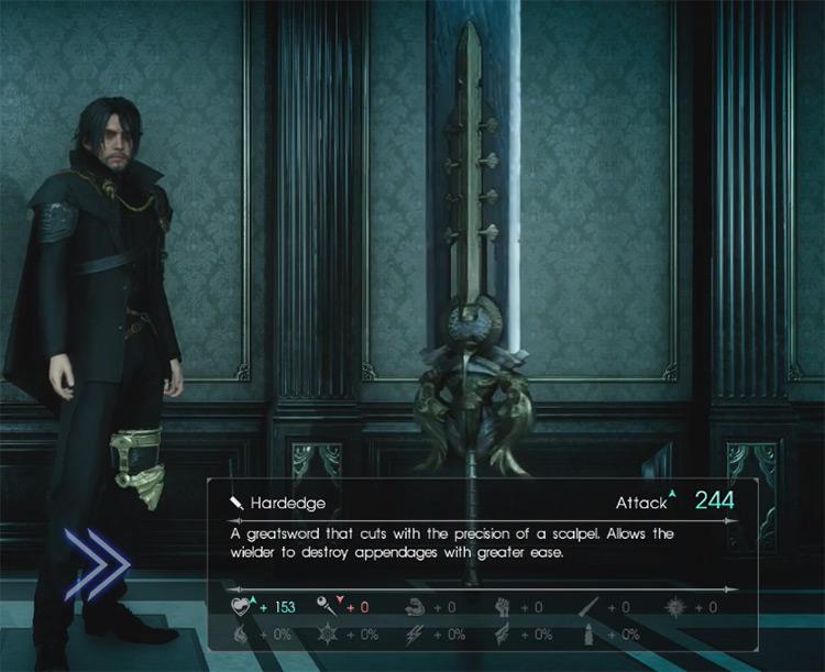 Hardedge Greatsword / Final Fantasy XV