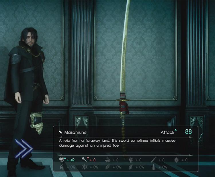 Masamune Greatsword / Final Fantasy XV