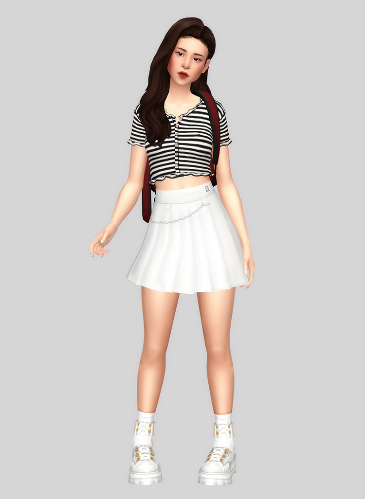 Tennis Chain Skirt / TS4 CC