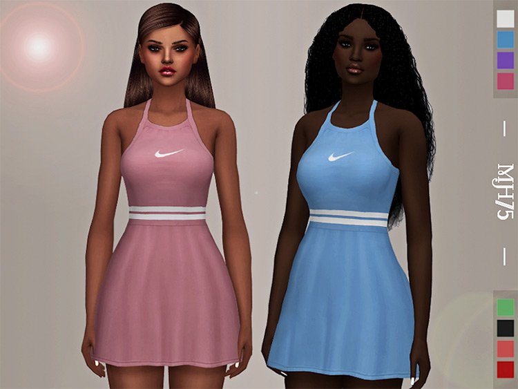 S4 Madison Tennis Dress / Sims 4 CC