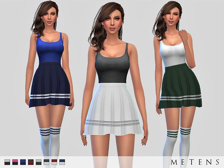 Sebero Tennis CC Set for The Sims 4