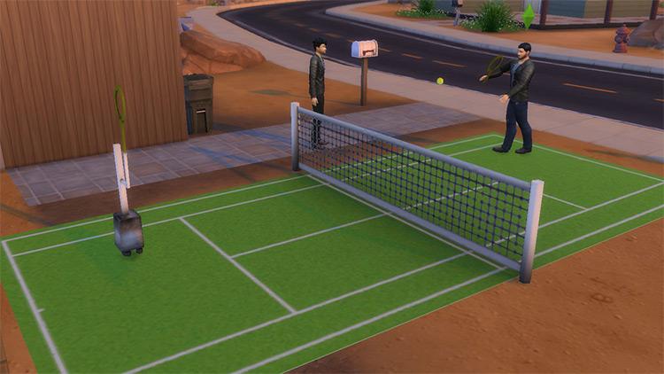 Semi-Functional Tennis Court / TS4 CC