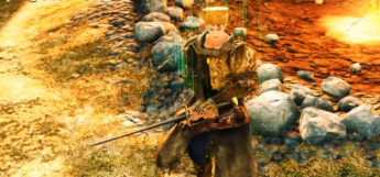 DS2 Character with Rapier Weapon
