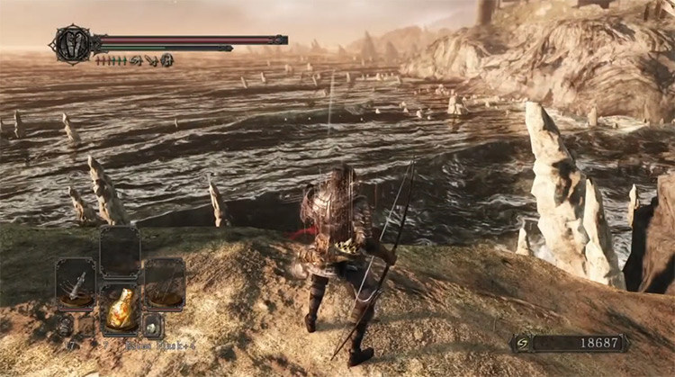 Hunter's Blackbow Screenshot in DS2