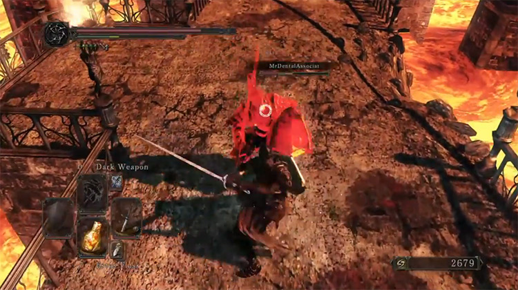 Fume Sword / Dark Souls 2 screenshot