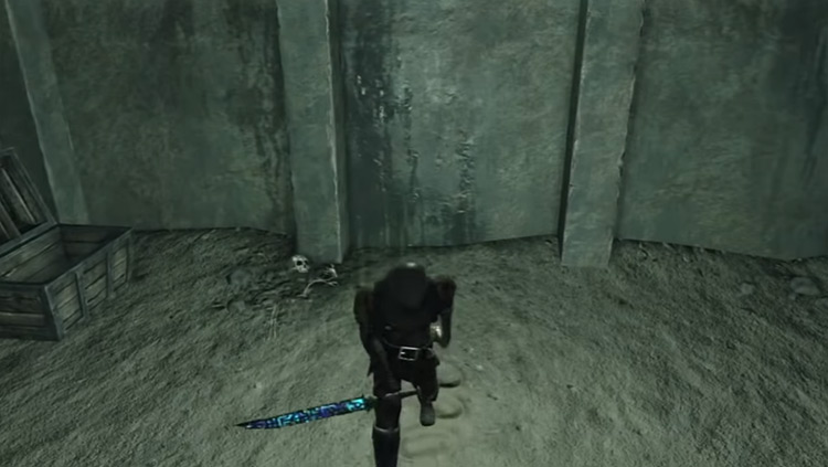 Puzzling Stone Sword in DS2