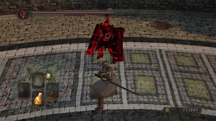 Blacksteel Katana / Dark Souls 2 screenshot