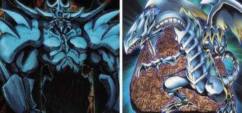 Obelisk & Blue-Eyes YGO Card Art
