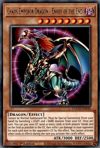 Chaos Emperor Dragon – Envoy of the End YGO Card