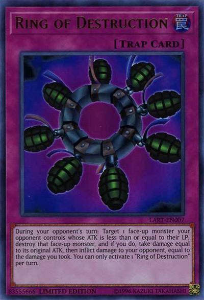 Ring of Destruction Yu-Gi-Oh Card