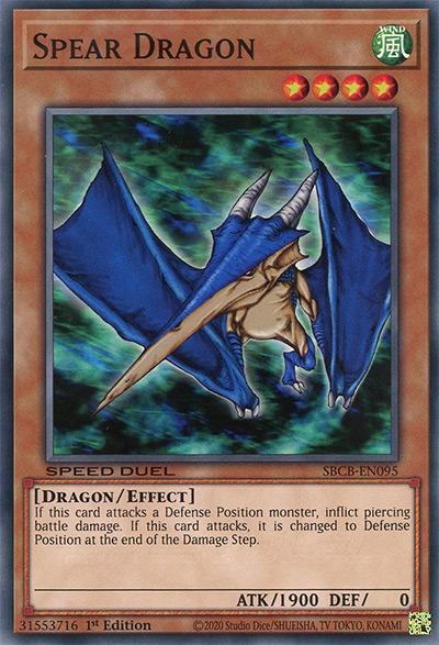 Spear Dragon Yu-Gi-Oh Card