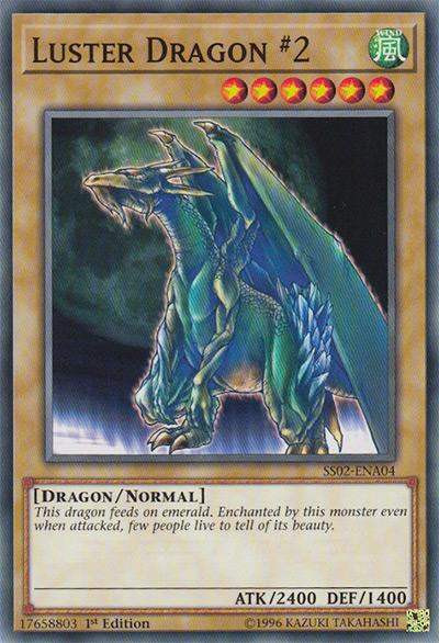 Luster Dragon #2 Yu-Gi-Oh Card