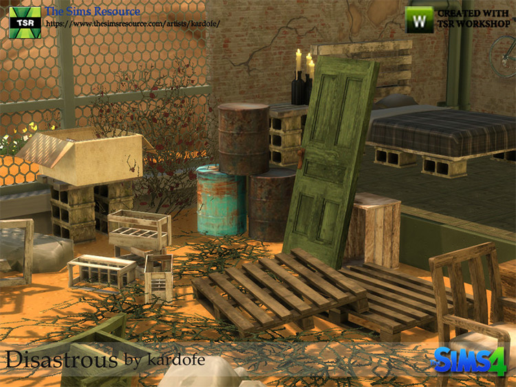 Disastrous Sims 4 Set / TS4 CC