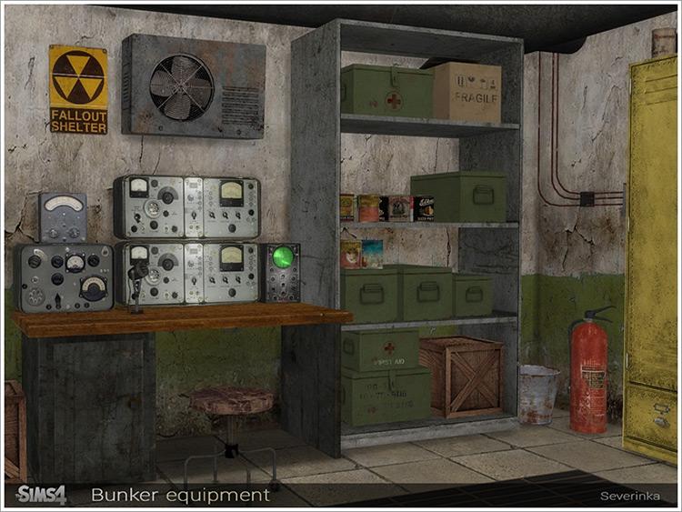 Bunker Equipment Set / TS4 CC