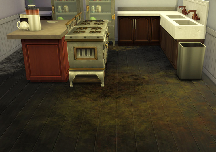 Dirt on Any Floor Mod for The Sims 4