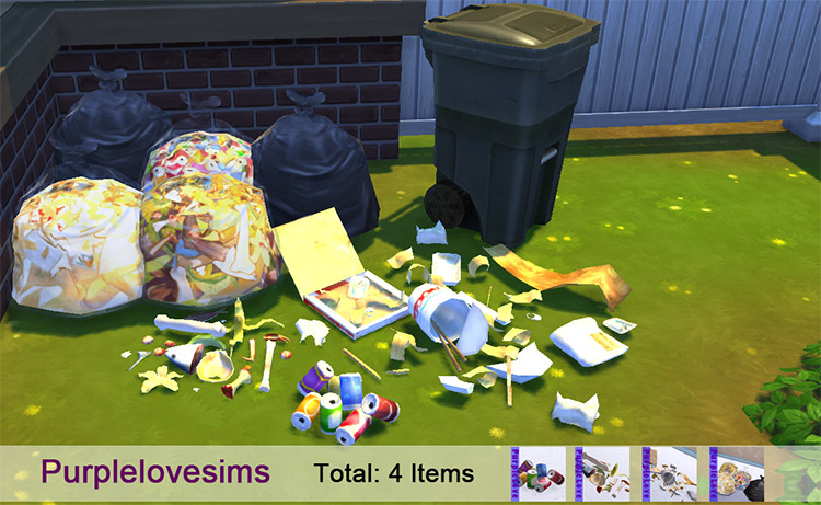 Garbage CC Set for The Sims 4