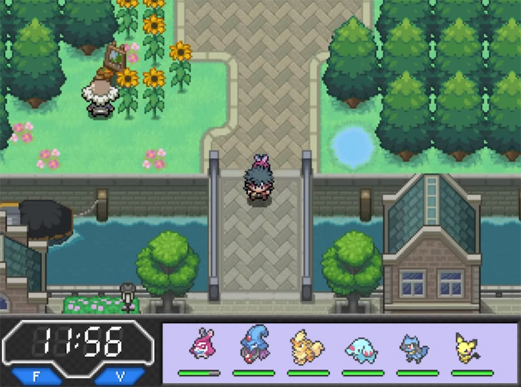 Pokémon Phoenix Rising Hack Screenshot