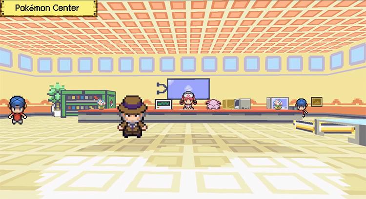 Pokémon 3D Fangame by Nilllzz / Screenshot