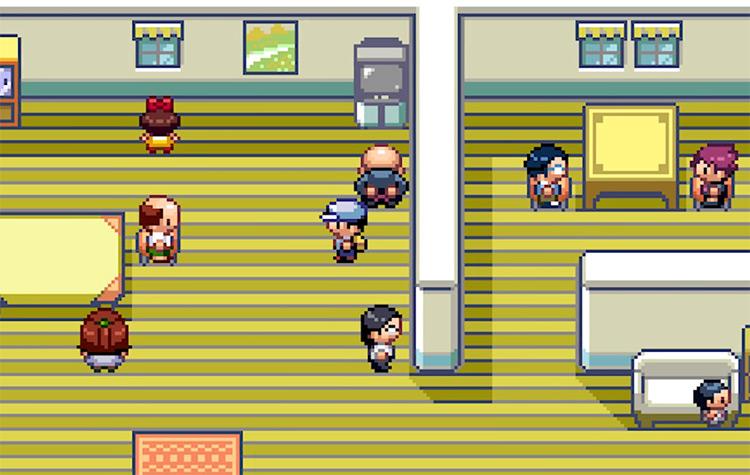 Pokémon CAWPS ROM Hack Screenshot