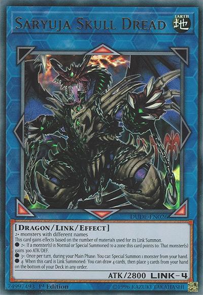 Saryuja Skull Dread Yu-Gi-Oh Card