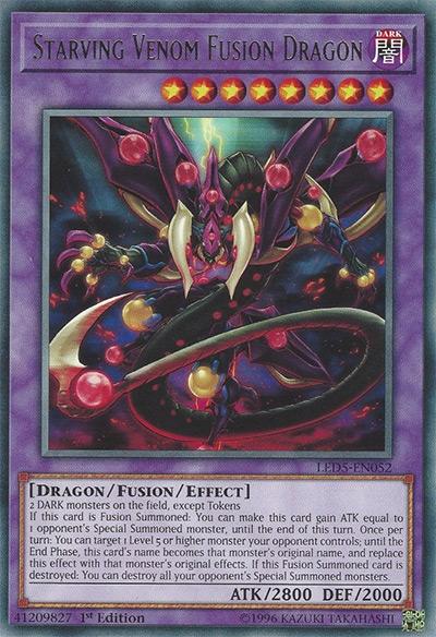 Starving Venom Fusion Dragon YGO Card