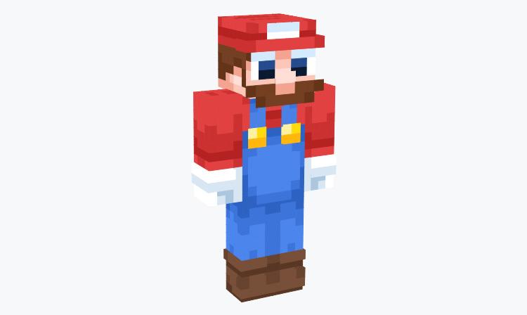 Modern Mario Derp Design / Minecraft Skin