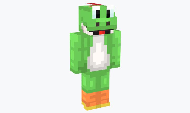 Green Yoshi Design / Minecraft Skin