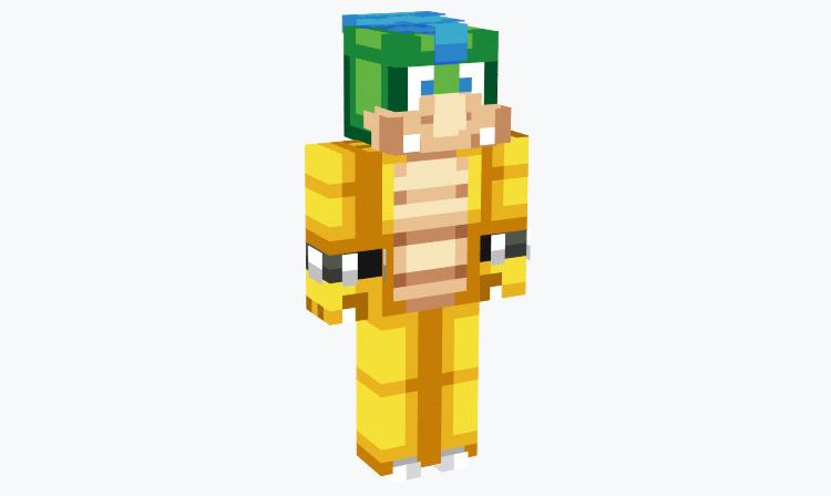 Larry Koopa Boss / Minecraft Skin