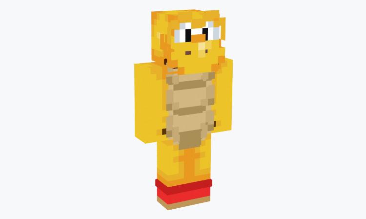 Red Koopa Troopa / Minecraft Skin