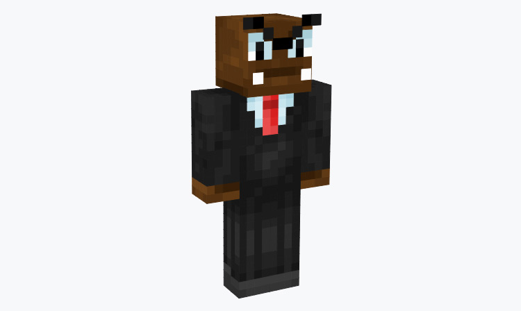 Goomba in a Suit/Tux / Minecraft Skin