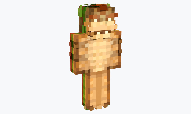 Sandwich Bowser / Minecraft Skin