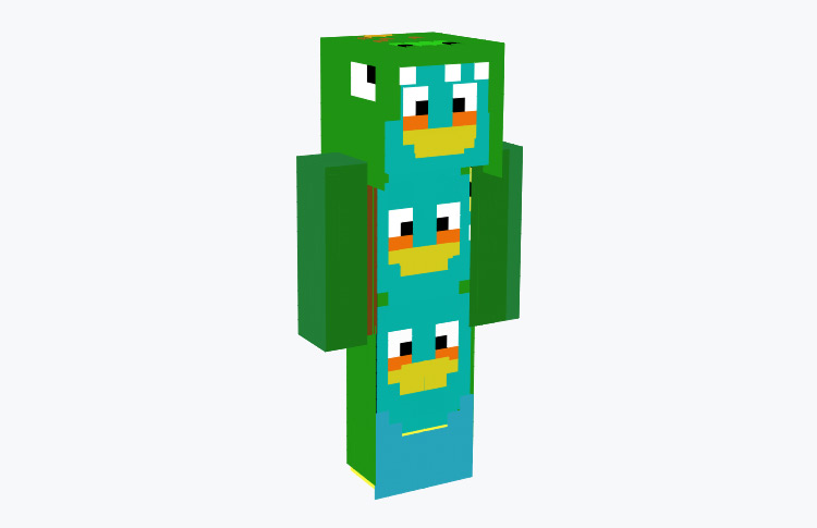 The Blues Birds / Minecraft Skin