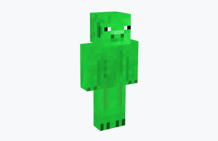 Minecraft Green Pig Skin