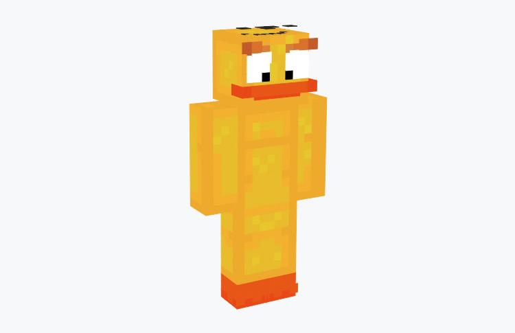 Chuck Angry Birds Minecraft Skin