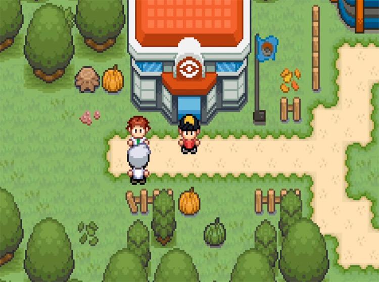 Pokémon Saffron Azira Region ROM Hack