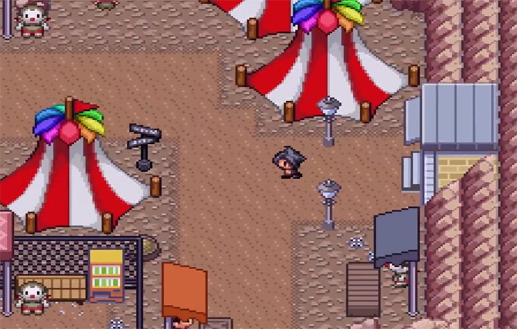 Pokémon Reborn Fangame Screenshot