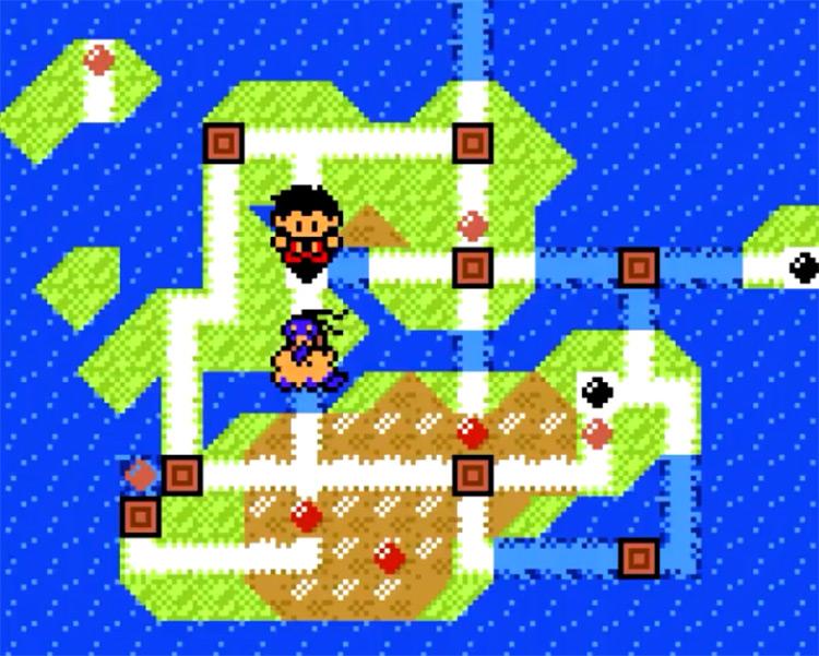 Pokémon Prism Naljo Region Map / ROM Hack Screenshot